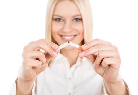 Quit Smoking Woman